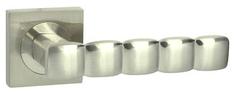 Domino Dveřní dělené rozetové kování CORAL-QR Klika štít hranatý