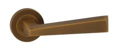 Domino Dveřní dělené rozetové kování KYRK-R - M6/M9