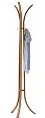 Compactor Bamboo bambusový věšák na oblečení - tříramenný 48 x 177 cm