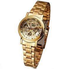 Timeking Rome Gold, dámské automatické hodinky
