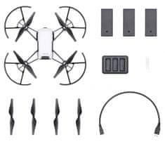 DJI RYZE Tello Boost Combo - micro selfie drone combo - zánovné