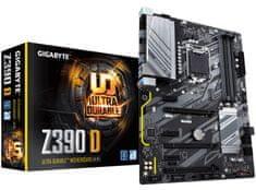 Gigabyte Z390 D, DDR4, USB 3.1 Gen 1, LGA1151, ATX osnovna plošča