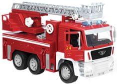 Driven wóz strażacki z efektami dźwiękowymi i świetlnymi