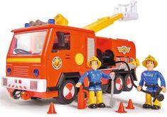 DICKIE Strażak Sam Samochód strażacki Jupiter 28 cm