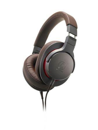 Audio-Technica ATH-MSR7b slušalke, rjavo sive