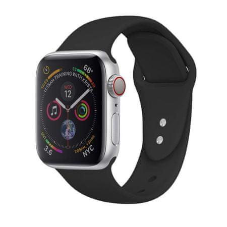 MAX nadomestni pašček za Apple Watch, 40 mm, MAS02, črn