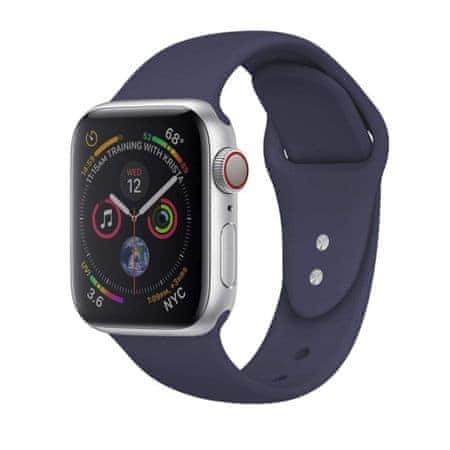 MAX zapasowy pasek do Apple Watch 40mm MAS02 niebieski