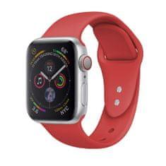 MAX zapasowy pasek do Apple Watch 44mm MAS01 czerwony