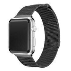 MAX Tartalék óraszíj az Apple Watch órához 40 mm MAS06, fekete