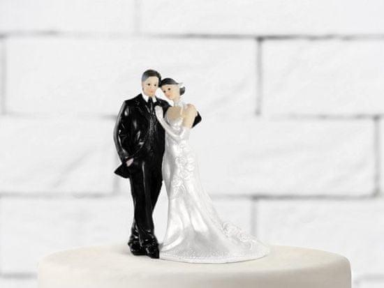 Paris Dekorace Svatební figurky Ženich a nevěsta G
