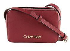 Calvin Klein Dámska kabelka Ck Must Psp20 Camerabag Tibetan Red
