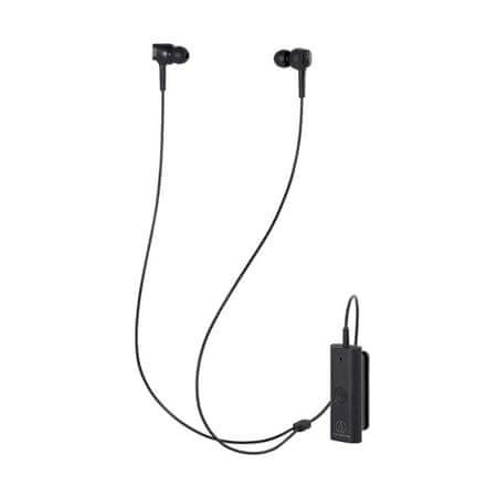 Audio-Technica ATH-ANC100BT slušalke, ušesne, brezžične, ANC, črne