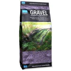 Aqua Excellent Písek 1,6-2,2 mm svítivě fialový, 1 kg