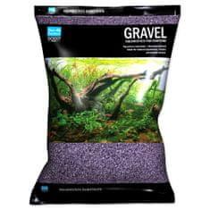 Aqua Excellent Písek 1,6-2,2 mm svítivě fialový, 3 kg