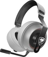 Cougar słuchawki gamingowe Phontum Essential, białe (3H150P40W.0001)