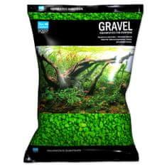 Aqua Excellent Písek 3-6 mm svítivě zelený, 3 kg