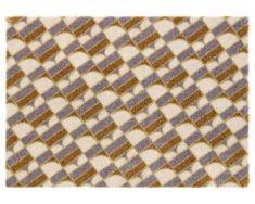 Elle Decor Protiskluzová rohožka Viva 104034 Cream/Grey/Gold z kolekce Elle