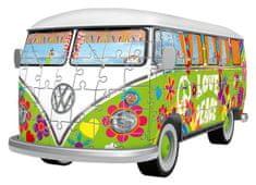 Ravensburger sestavljanka Volkswagen minibus T1 Hippie, 162 delov