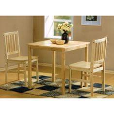IDEA nábytok Stôl + 2 stoličky GENT lak