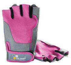 Olimp Fitness One dámské rukavice růžové
