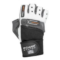 POWER SYSTEM fitness rukavice No Compromise šedé