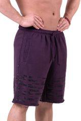 Nebbia Raw Hem Street šortky 151 fialové