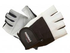 MadMax rukavice Fitness MFG444 bílé