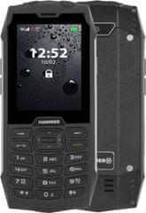 myPhone Hammer 4, strieborný