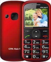 CPA HALO 11 s nabíjecím stojánkem, červená