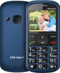 CPA HALO 11 s nabíjacím stojanom, modrá