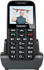 Evolveo EasyPhone XD s nabíjecím stojánkem, čierna