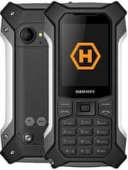 myPhone Hammer Patriot, strieborný