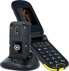 myPhone HAMMER BOW Plus, oranžová/čierna
