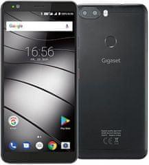 Gigaset GS370, Dual Sim, 3GB/32GB, čierna