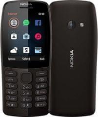 Nokia 210, Dual Sim, čierna