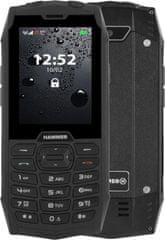 myPhone Hammer 4, čierny