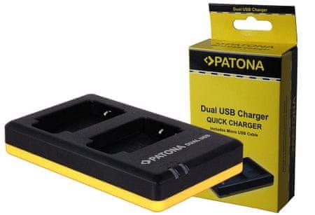 PATONA Nabíječka Foto Dual Quick Sony NP-FM500H USB (PT1951)