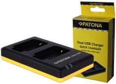 PATONA Nabíječka Foto Dual Quick Olympus BLS5 USB (PT1948)