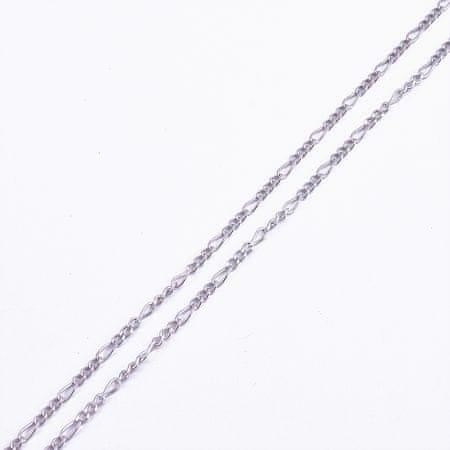 Amiatex Ezüst lánc 15985, 42, 2.8 G