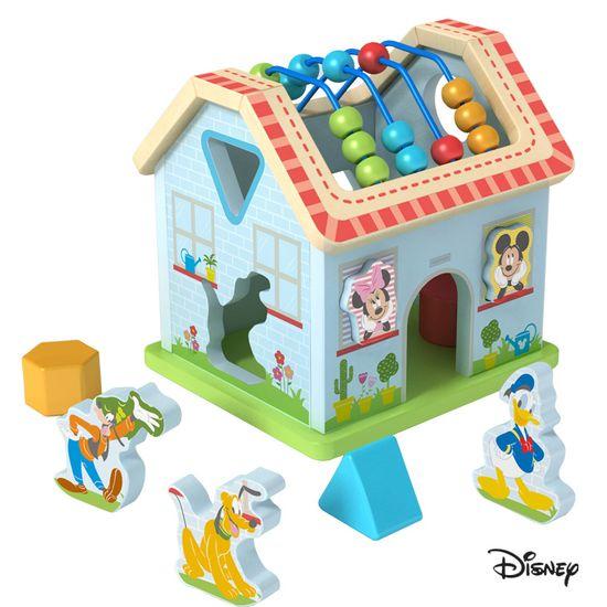 Derrson Disney Dřevěný motorický domeček Mickeyho svět