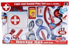 iMex Toys Doktorský set 11 ks s taštičkou