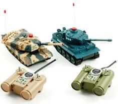 iMex Toys H-Q Sada bezpečných infra tanků 1/32 2v1 RTR 1:10