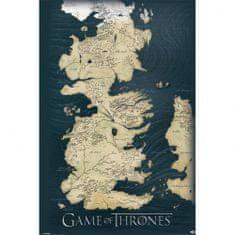 Pyramid Int. Mapa Game of Thrones - Hra o trůny