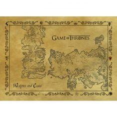 Pyramid Int. Pohlednice Game of Thrones - Starožitná mapa