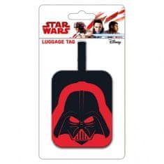 Visačka na zavazadla Star Wars - Helma Darth Vadera