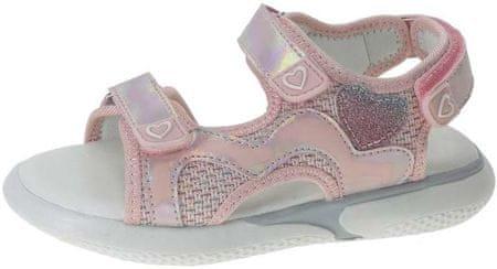 Beppi sandały dziewczęce 2179020 28 różowe