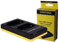 PATONA Nabíječka Foto Dual Quick Olympus Li-90B USB (PT1953)