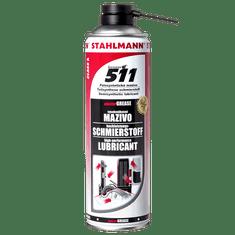 STAHLMANN Vysokovýkonné mazivo masterGREASE 511, 500 ml