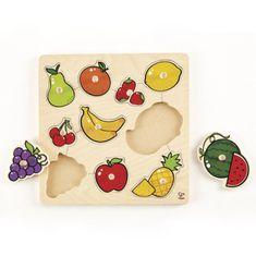 Hape Vkladacie puzzle Ovocie