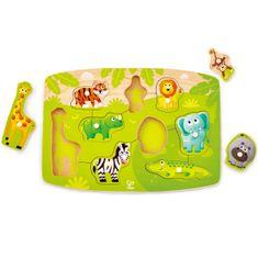 Hape Vkladacie puzzle Džungľa